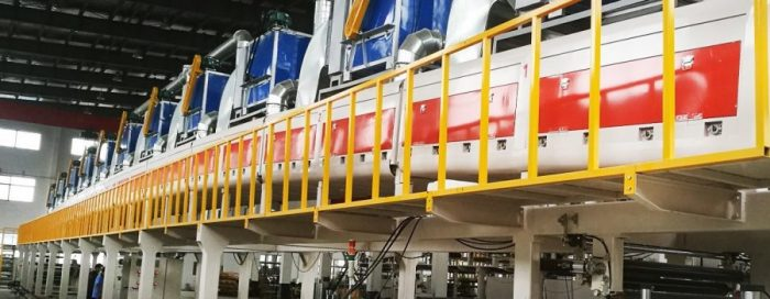 BOPP Tape Coating Line Testing
